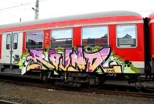 Graffiti - Trains