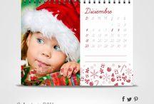 Calendario de Escritorio 2016 / Calendario carpita con anillado superior. Las fotos son ilustrativas.