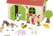 Jouer à la ferme et avec tous ses animaux
