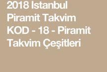 İstanbul Piramit Takvim