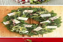 Front Door Christmas Wreaths Ideas