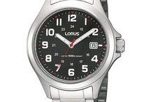 Lorus horloges /   Lorus is one of the brands made and marketed by the world famous Seiko Watch Corporation who also make Pulsar watches, Seiko watches and Seiko and Lorus clocks.  Lorus is een van de merken gemaakt - en op de markt gebracht - door de wereldberoemde Seiko Corporation, die ook Pulsar horloges , Seiko horloges en Seiko en Lorus horloges onder hun vleugels hebben.