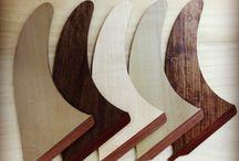 surf wood fins