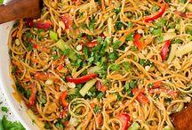 Thai food mmm!