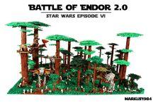 LEGO Battle of Endor - by Markus1984 / Csata az Endoron. A május 4-i Csillagok Háborúja napra készítette Markus1984. A Hoth Csata után itt az Endor. Még lenyűgözőbb alkotás. Ne feledjétek, éppen 6 féle akció fut nálunk (Star Wars, Juniors, Friends, DUPLO, heti, Elevator). Még több info itt: http://kockashop.hu/lego-hirek/1