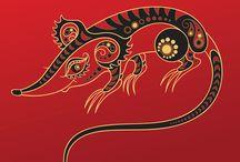 Animales del horoscopo familiar
