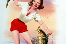 Pin-up fishing