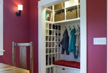 Entryway closet / by Carrie M