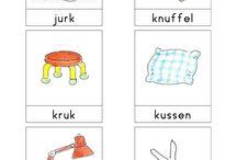 Bas Woordkaarten / Woordkaarten van Bas over diverse thema's