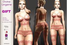 {lingerie} 1L SL Marketplace Dollarbies / Second Life women's lingerie fashion for L$1 on the marketplace ~ dollarbies!