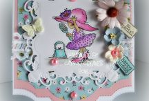 LOTV - Facebook April Challenge / Here you'll find lots of fab inspiration for our April Facebook Challenge :-) Use at least 3 of the following colours - A - Aqua, P- Pink, R - Red, I - Ivory or L - Lilac For all the details and to enter just visit the event page - https://www.facebook.com/events/850490431761125/  / by Lili of the Valley Ltd