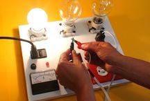 Tablero electrico de pruebas