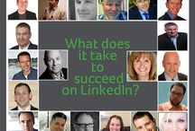 How do you succeed on LinkedIn? / Do you use LinkedIn? It's one of the most important tools for business people who want to develop relationships with their peers online. I surveyed 20 thought leaders about how they use LinkedIn, and I asked them what it takes it succeed on this popular social media network.