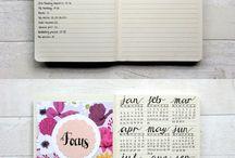 BuJo / bullet journal ideas