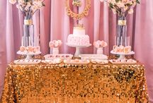 A Chic Bebe Soiree Baby Shower / SAROMINspired, SAROM INspired, A Chic Bebe Soiree, baby girl shower, gold, pink
