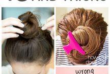hair, girl crap