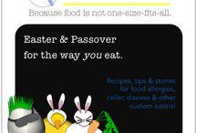 Easter Recipes for Custom Eaters / Easter bunny visiting a child with food restrictions this year? Get ideas from our members - & filter recipes for your food needs, too in freedible's Easter Dible! www.freedible.com/easter-dible