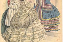 Historical fashion-modeplaten