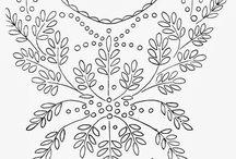 patterns κέντημα