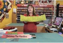 Quilting Quickies / Join Marcia as she teaches quick and easy projects, fun techniques, and super tutorials.
