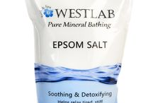 Epsom Salt WestLab Products / Our Epsom Salt collection from our online range at www.westlabsalts.co.uk