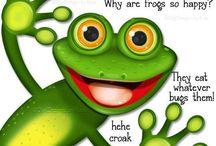 Frogs / by Jenna Froggy