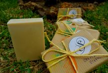 Castile Handmade Soaps / Extra virgin olive oil soap bars