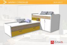 Nápady na nábytok do detskej izby / Ideas for children´s room furniture / Najlepšie návrhy na detský nábytok od našich dizajnérov Máj/2017
