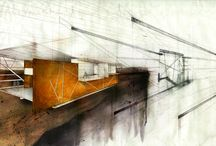 Architectural Drawings and Illustrations / by Nasia Fletcher