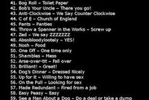 English: British Slang