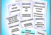 NO PREP Literature Units ~All Things English Language Arts! /   / by Ruth S.