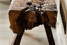 Rustic Bench seat / Bench