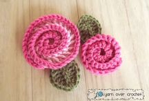 Love Stitch Love: Swirly Rose - Free Pattern