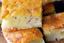 torta rustica veloce con prosciutto cotto e scamorza