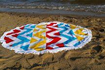 Illusion / Round beach towel | Serviette ronde | Runde strandlaken | Handtuche Badtuche | Peshtemal | Toalla ronda | Toalla de playa