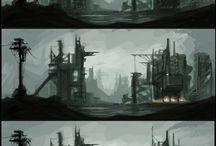Industrial concept art