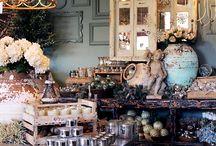 ╬ Merchandising vitrine / Création de décors et de vitrines pour les magasins et les grandes surfaces