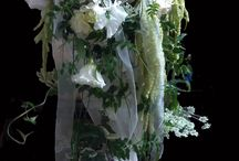 Bridal wedding Bouquets for real brides. / A selection of Bridal Wedding & Bridesmaids Bouquet made by Edelweiss Flower Boutique, Santa Monica, CA.  A Member of The American Institute of Floral Design & Master Florist.