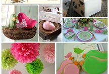 Bird party ideas / by Crissy's Crafts