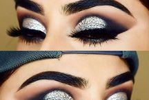 silver eyemakeup