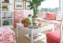 Garden, interior and home