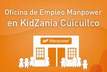 Oficina de empleo Manpower en KidZania Cuicuilco / Visita nuestra oficina de empleo Manpower en kidZania Cuicuilco.