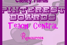 Teach Central- Resources / by Lori Jones