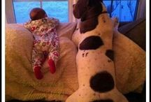 dogs -- worlds best babysitters!!