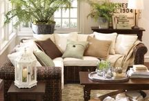 cozy living rooms / by Lori Cedeno