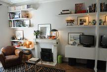 46m² - Paris 9ème / Un parti pris classique / contemporain a dicté la rénovation totale de cet appartement de 46m² dans lequel 2 chambres, 1 espace bureau, 1 cuisine avec coin repas et un salon devaient trouver refuge.