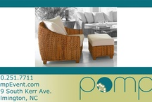 Pomp Collections: Chairs + Ottomans