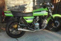 Kawasaki Z 550 rebuild