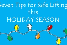 Lift safely this holiday season! / The holiday season can bring a lot of heavy lifting...don't let an injury turn your holiday cheer into holiday drear!