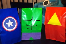 Izicks birthday party  / Avenger party / by Erika Calderon